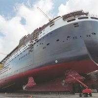 Chantier Queen Mary 2